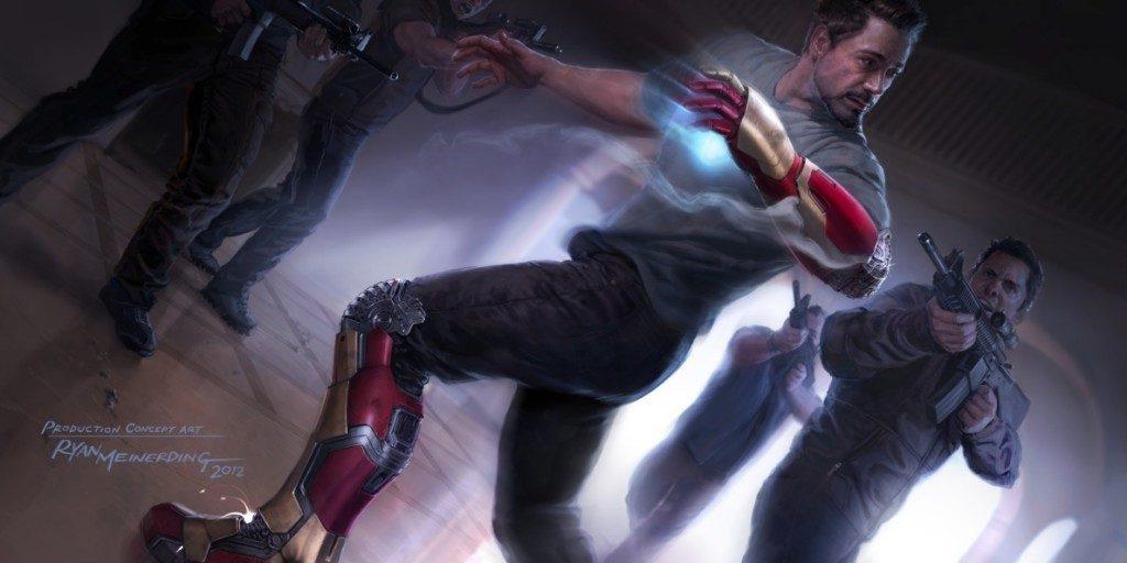 Iron Man Concept Art by Ryan Meinerding