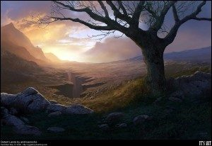 Distant island by Andreas Rocha