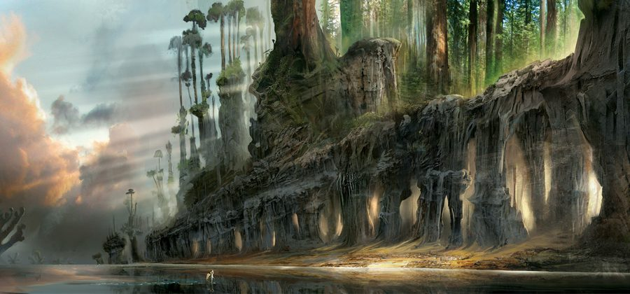 the Croods concept Art