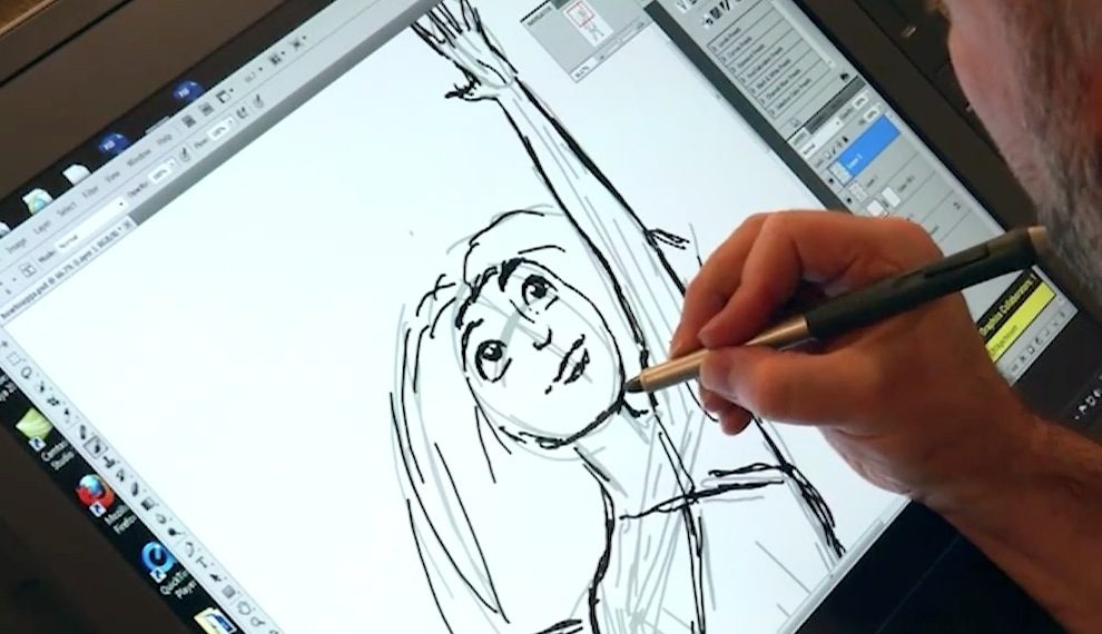 Drawing the Croods
