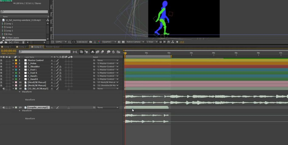 Ik Animation in After Effects