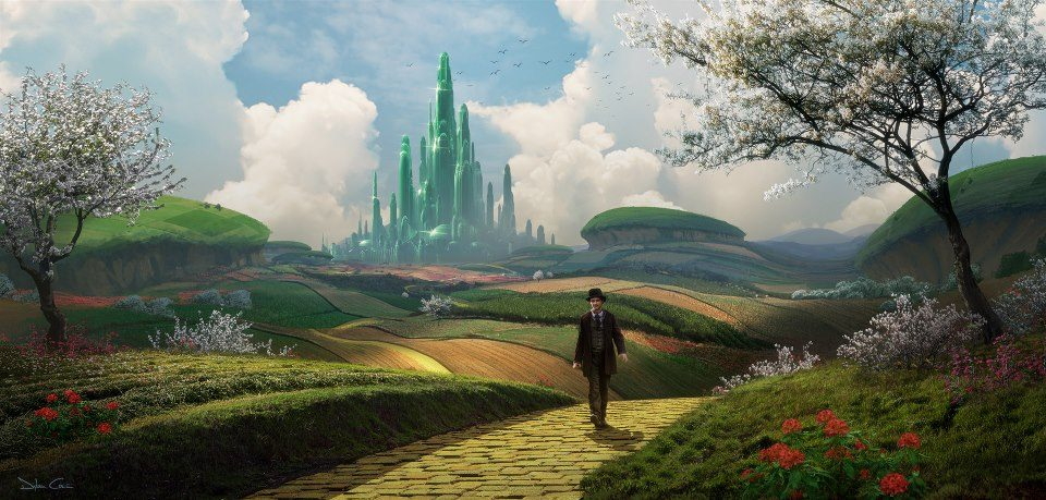 Oz the Great and Powerful Concept Art