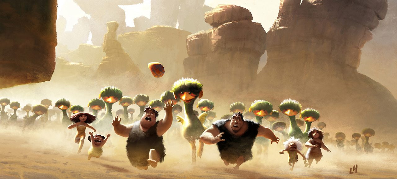 The Croods : Concept Art