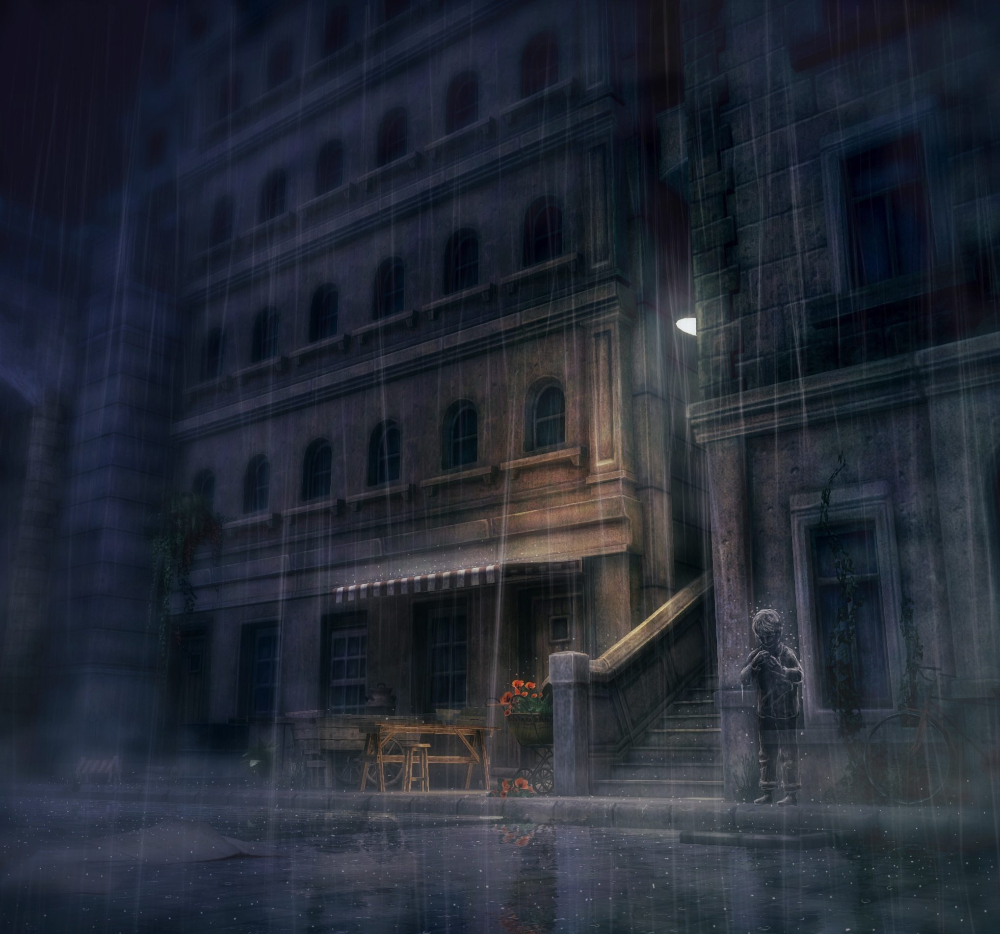 SCE Japan Studio : Rain