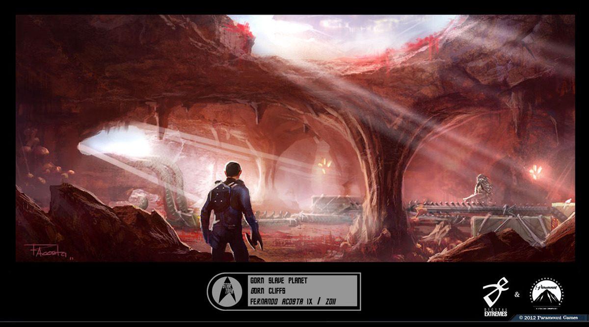 Star Trek Into Darkness Game Concept aart
