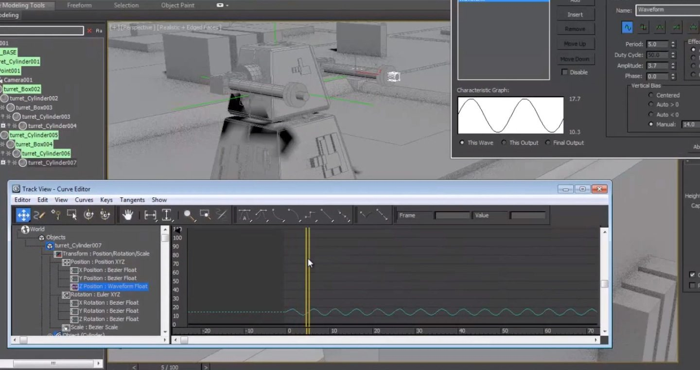 Animation Methods in 3ds Max