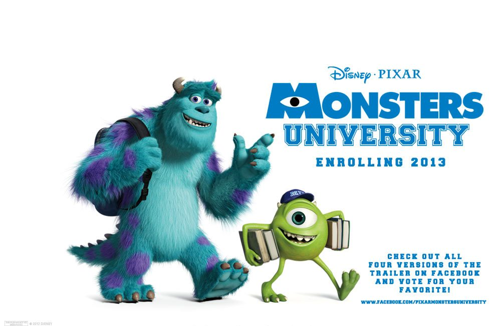 Monsters university trailer 3 voltagebd Choice Image