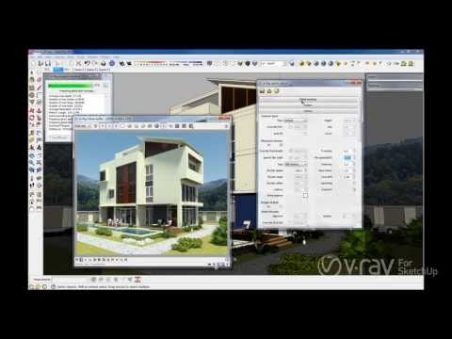 V-Ray 1 6 for SketchUp Open Beta