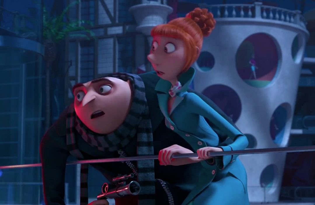 Despicable Me 2 Gru And Lucy