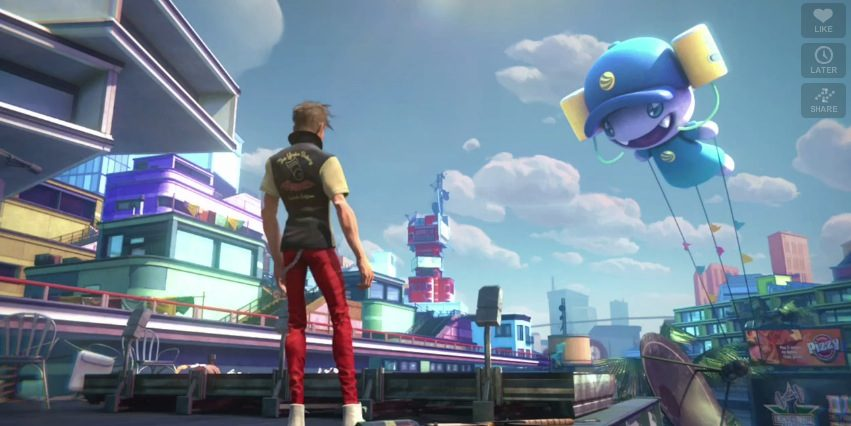 Xbox Sunset Overdrive
