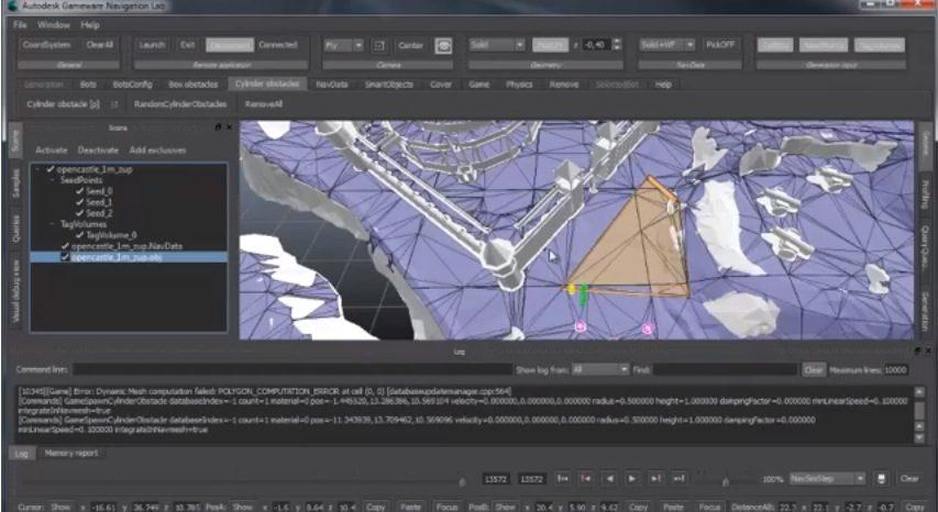 Autodesk Gameware Navigation