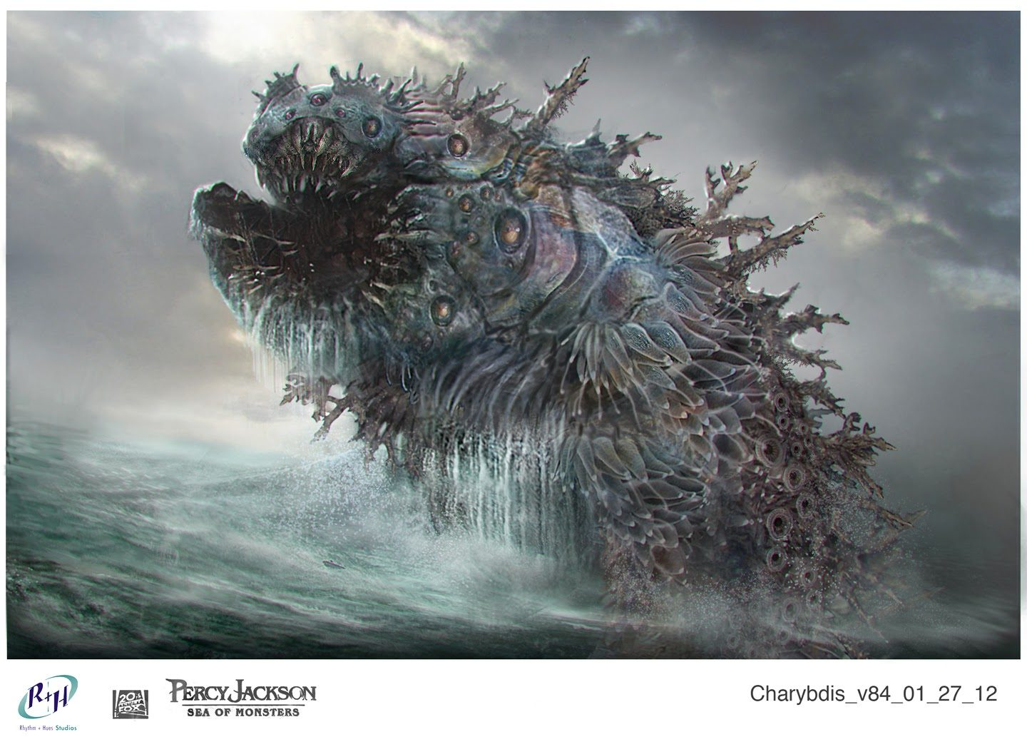 Percy Jackson Sea Monster Concept Art
