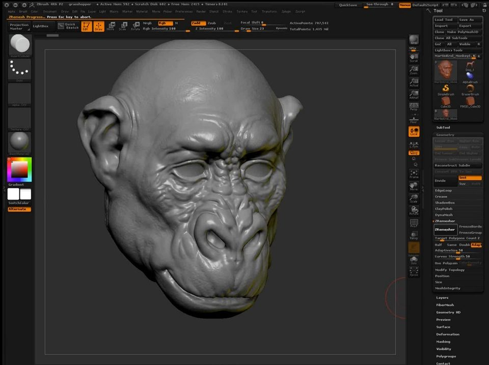 What's New in ZBrush 4R6