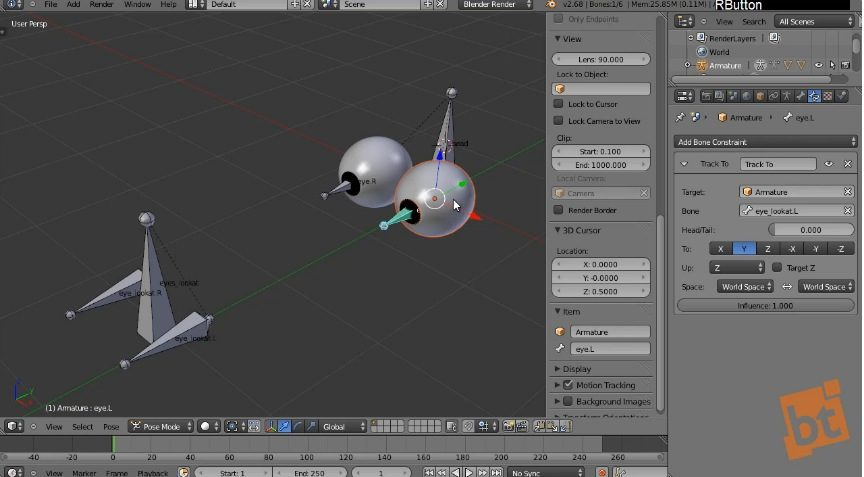 Rigging Blender