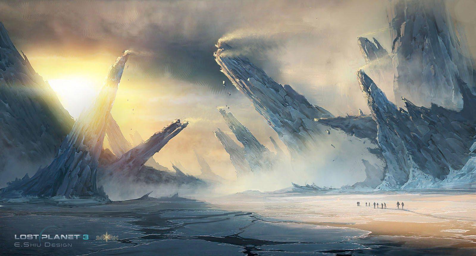 Lost Planet 3 Concept Art