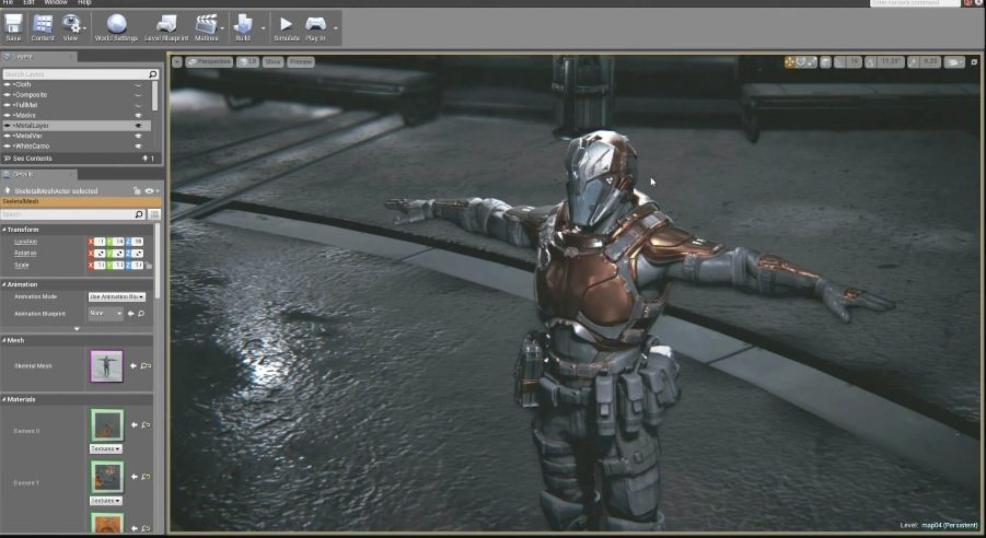 unreal engine 4 demonstration