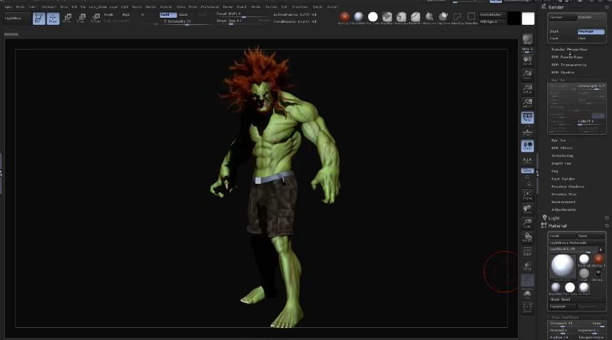 zbrush Photoshop rendering tutorial