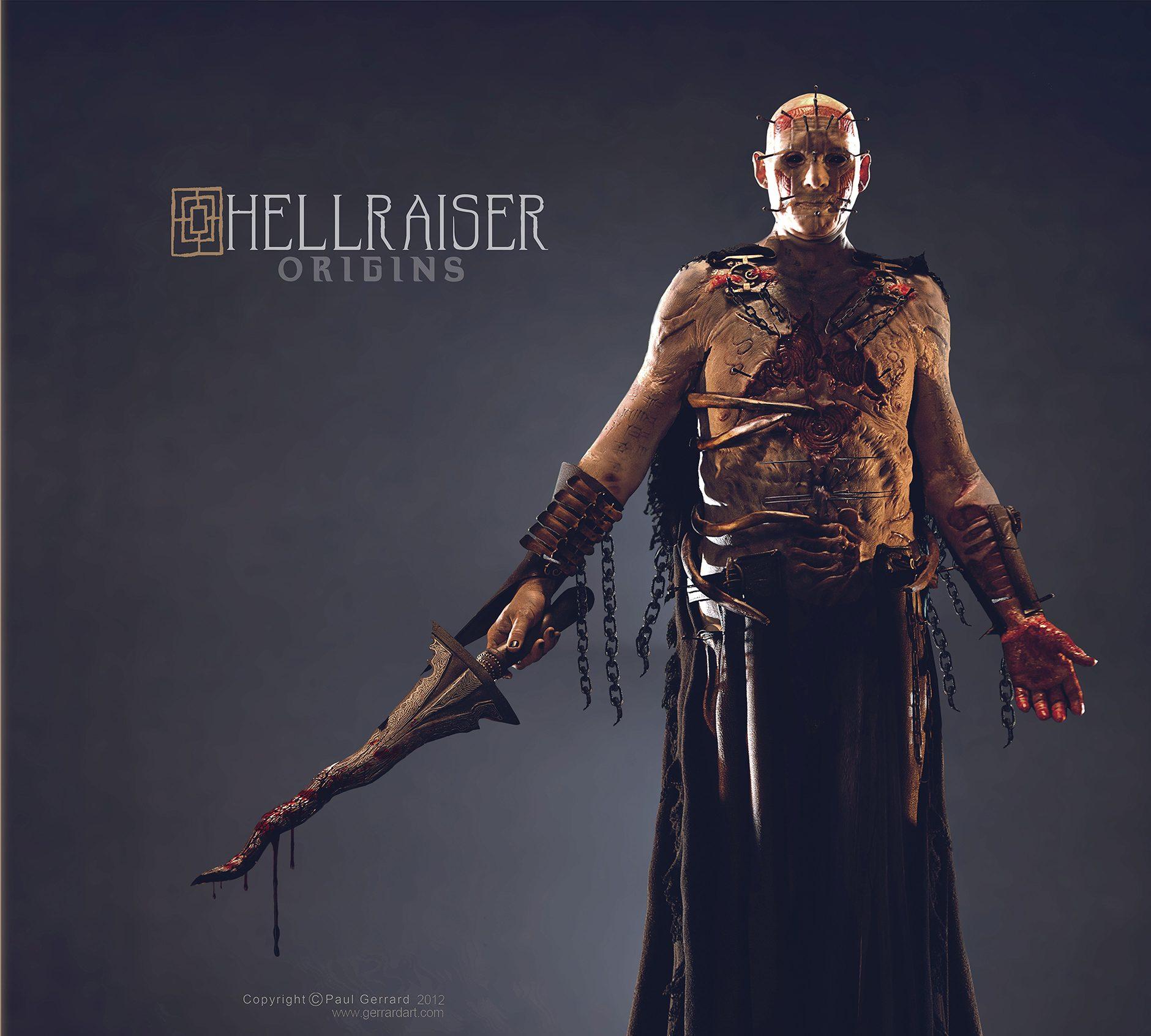 Hellraiser Origins Art