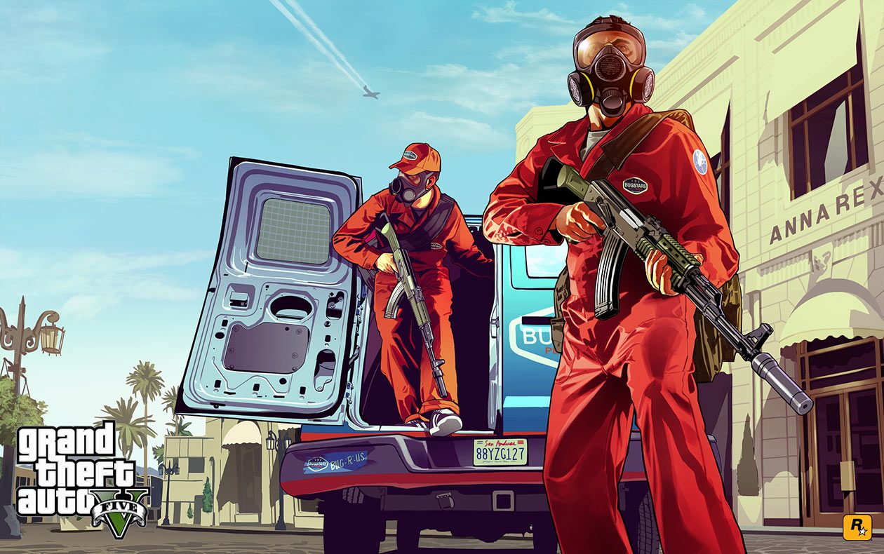 GTA 5 Artworks