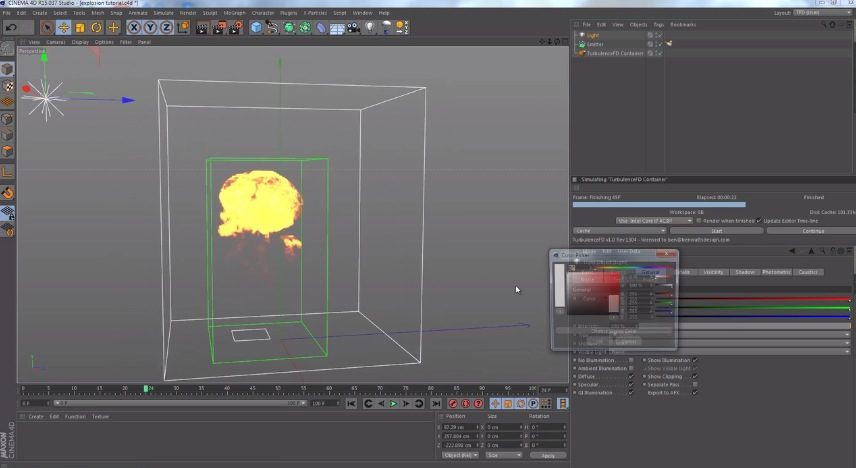 Explosion TFD C4D