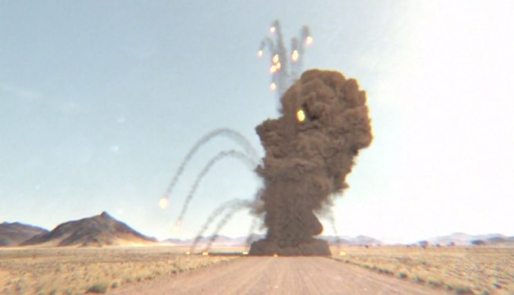 Explosions using Particles