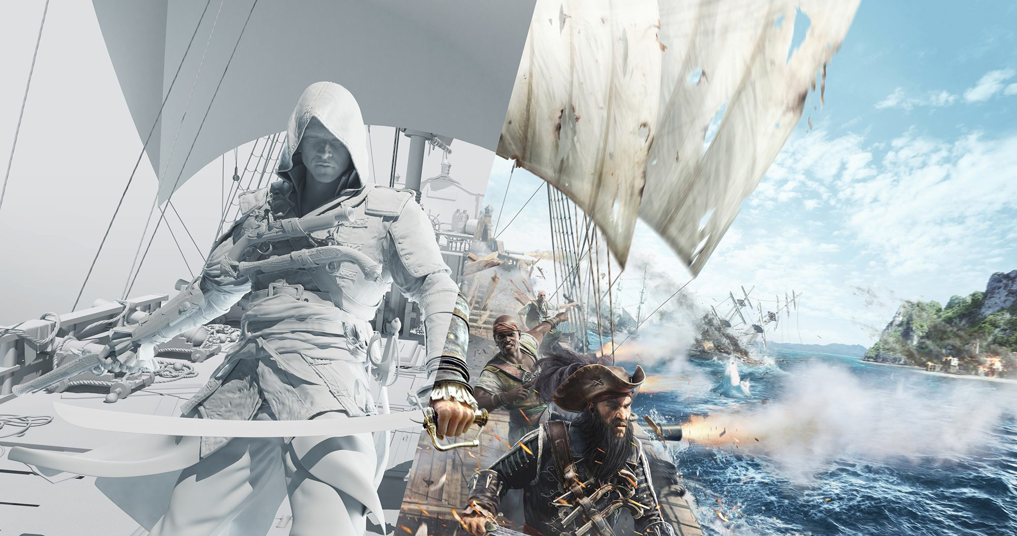 Assassin's Creed IV Black Flag Art