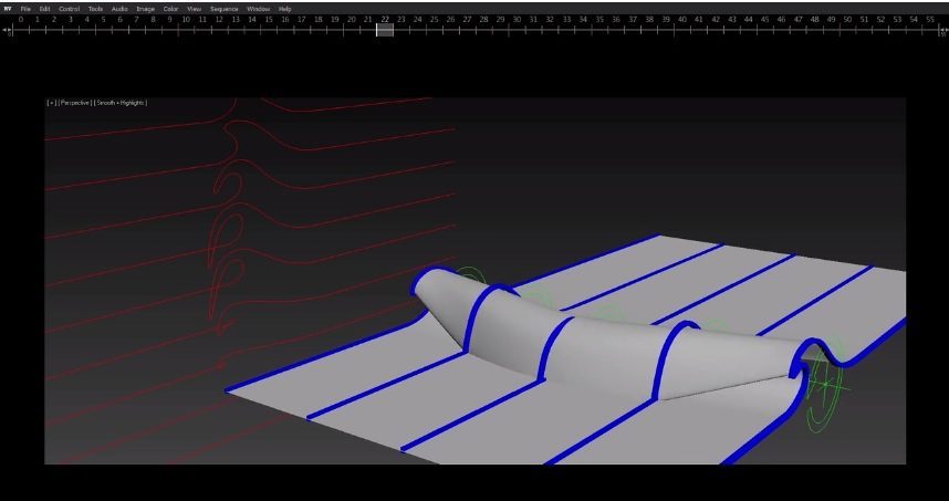 Rigging Waves in 3DS Max
