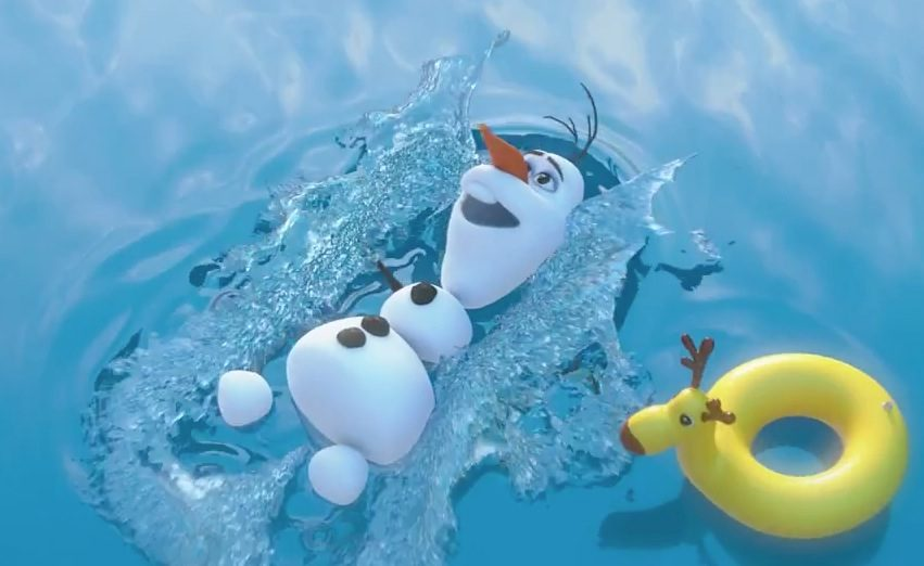 Frozen Olaf The Snowman Music Video – In Summer