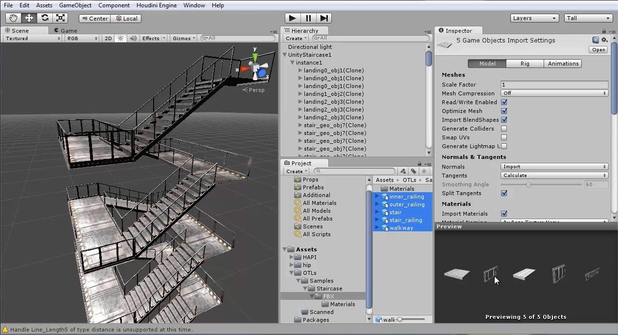 Houdini Engine for Maya and Unity