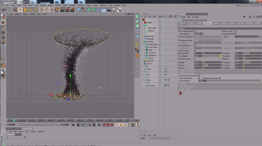 making tornado