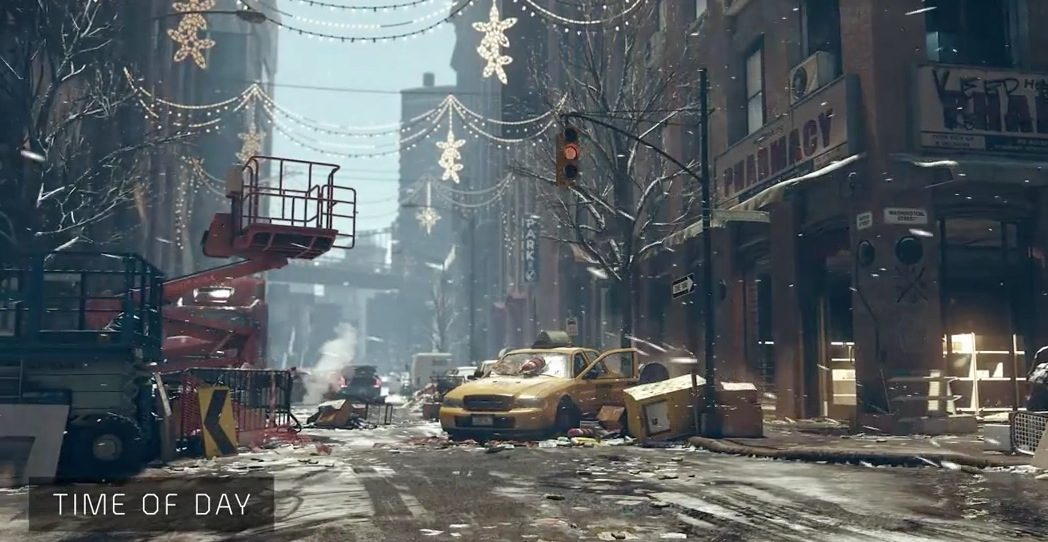 The Division Snowdrop Engine