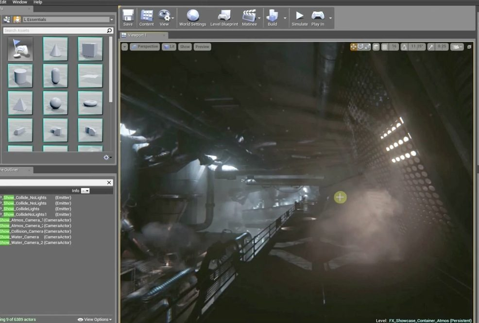 Creating VFX with Unreal Engine 4 - Part 2