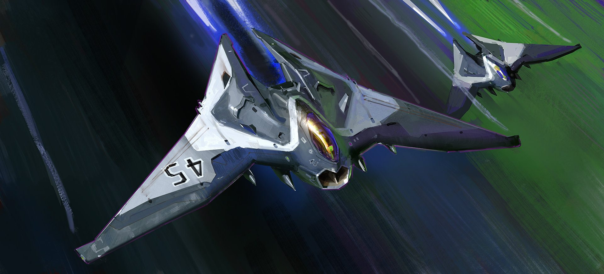 space fighter planes - 1280×581