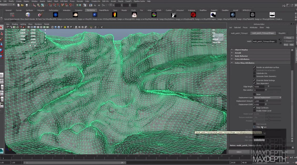 Zbrush Multi-Map Exporter for Vray and Maya