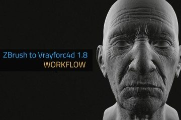 Zbrush To VrayforC4d