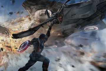 Captain America Winter Soldier Concept Art