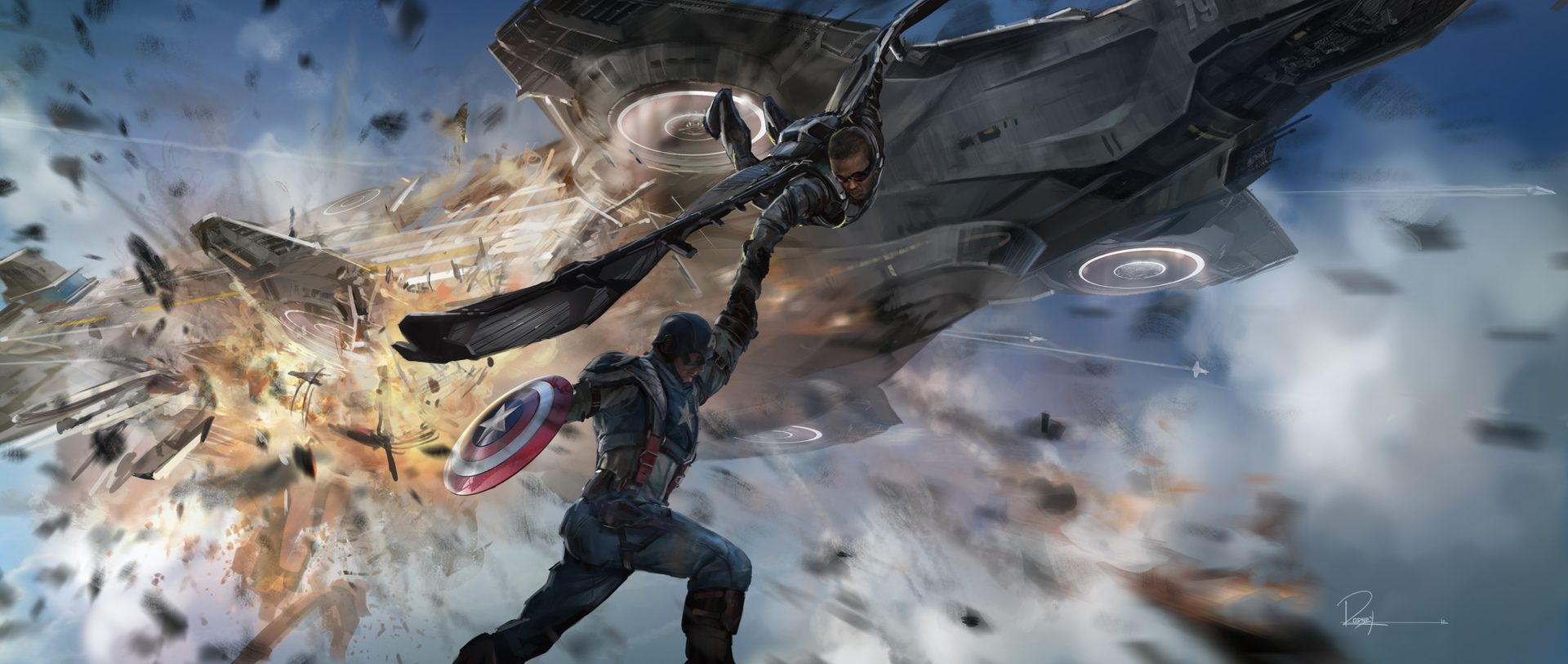 Captain America Winter Soldier Concept Art