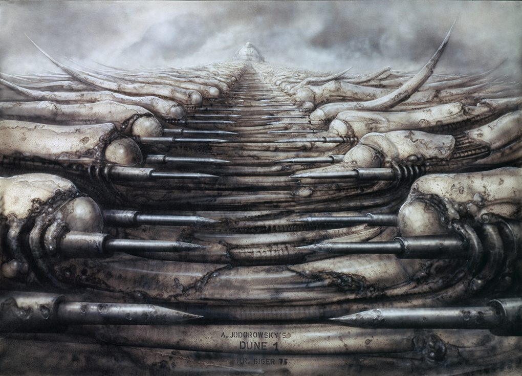 Jodorowsky's Dune by H.R. Giger