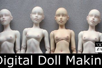 Digital Doll Making by Eve Studio
