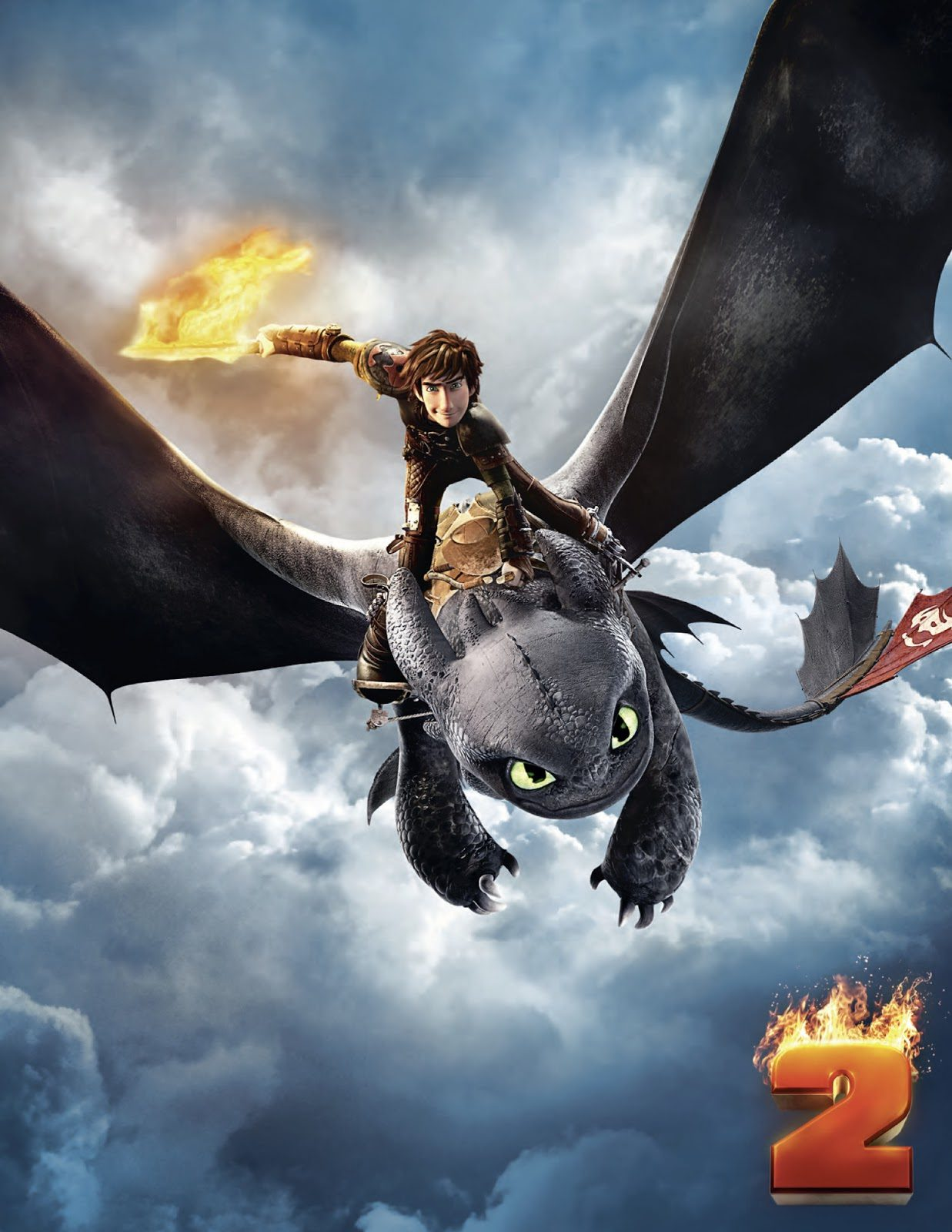 How to Train your Dragon 2 - First 5 Minutes and Dragon Race