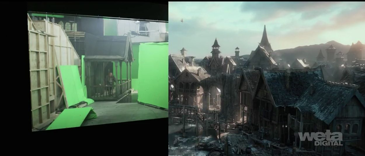 The Hobbit: The Desolation of Smaug - Making Laketown