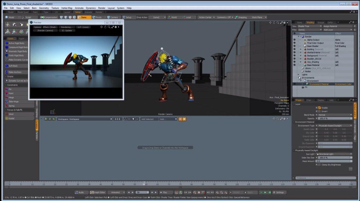 modo 801 Animation