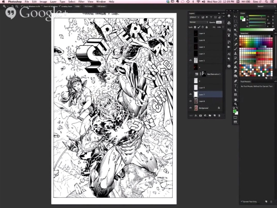How to color comic book art baditri Gallery