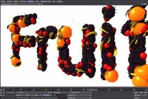 LightWave 3D - Flocking Fruit