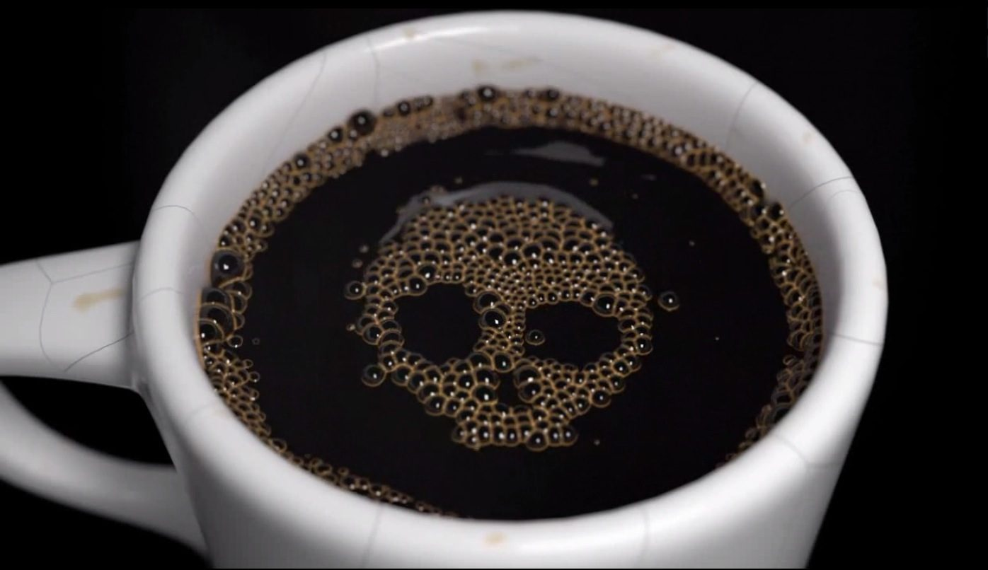 particle skull