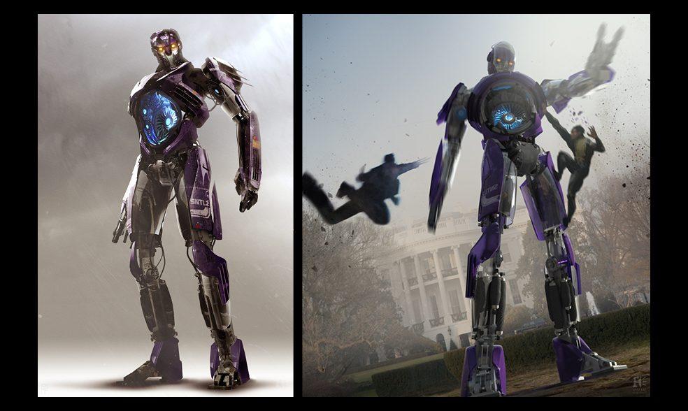 x-men Sentinel concept art