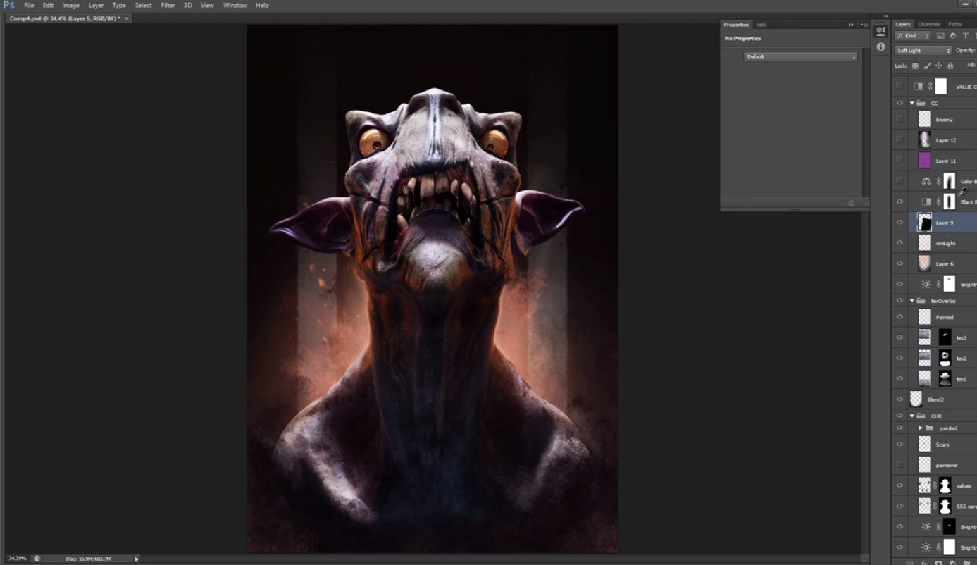 Improving your 3D renders in Photoshop