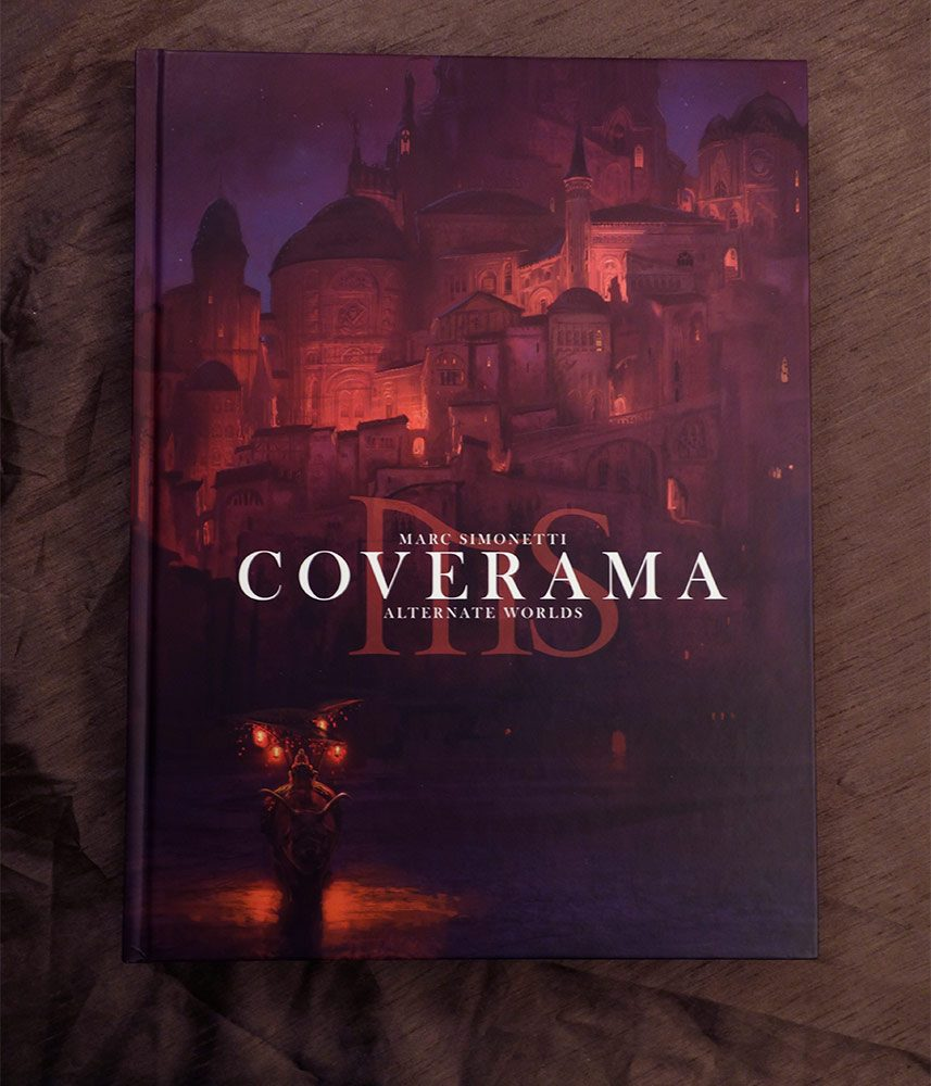 """Be the first to review """"Coverama by Marc Simonetti – Limited ..."""