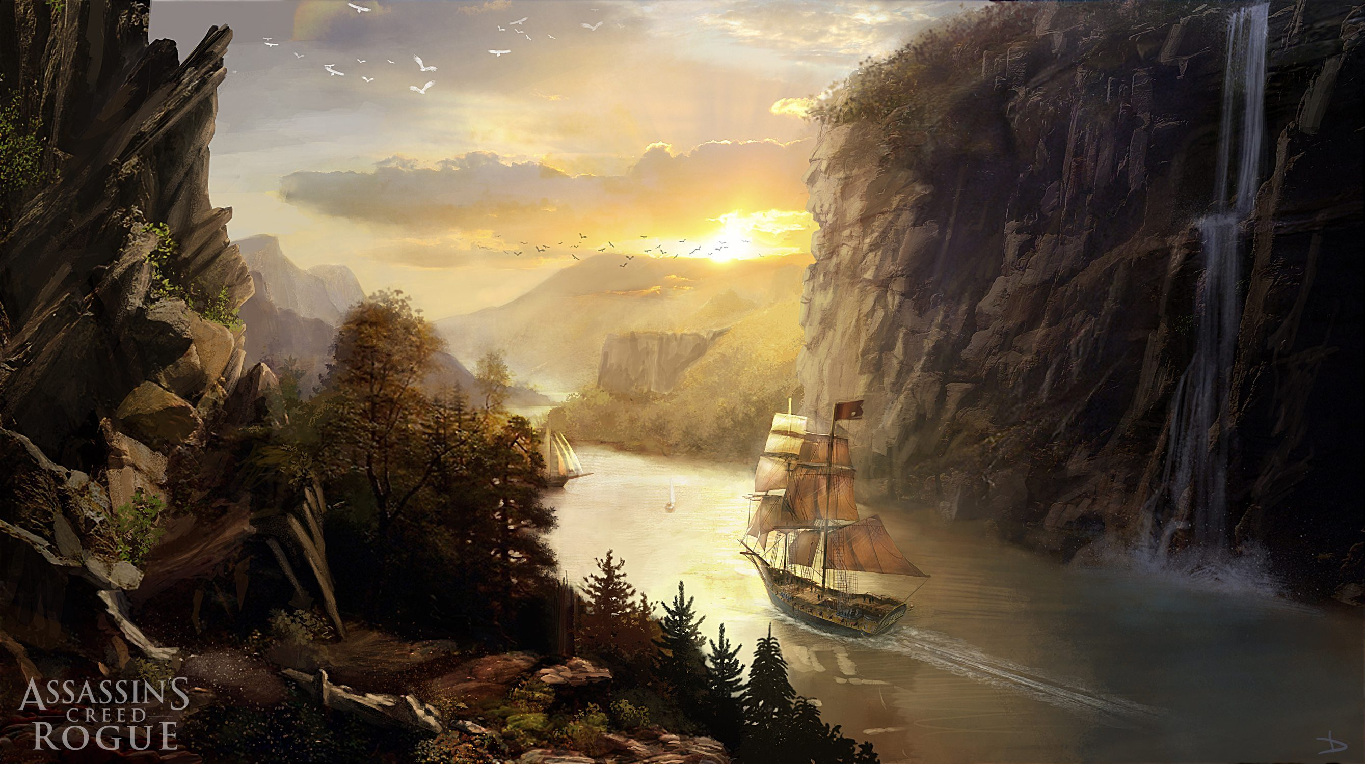 Assassins Creed Rogue Concept Art 3