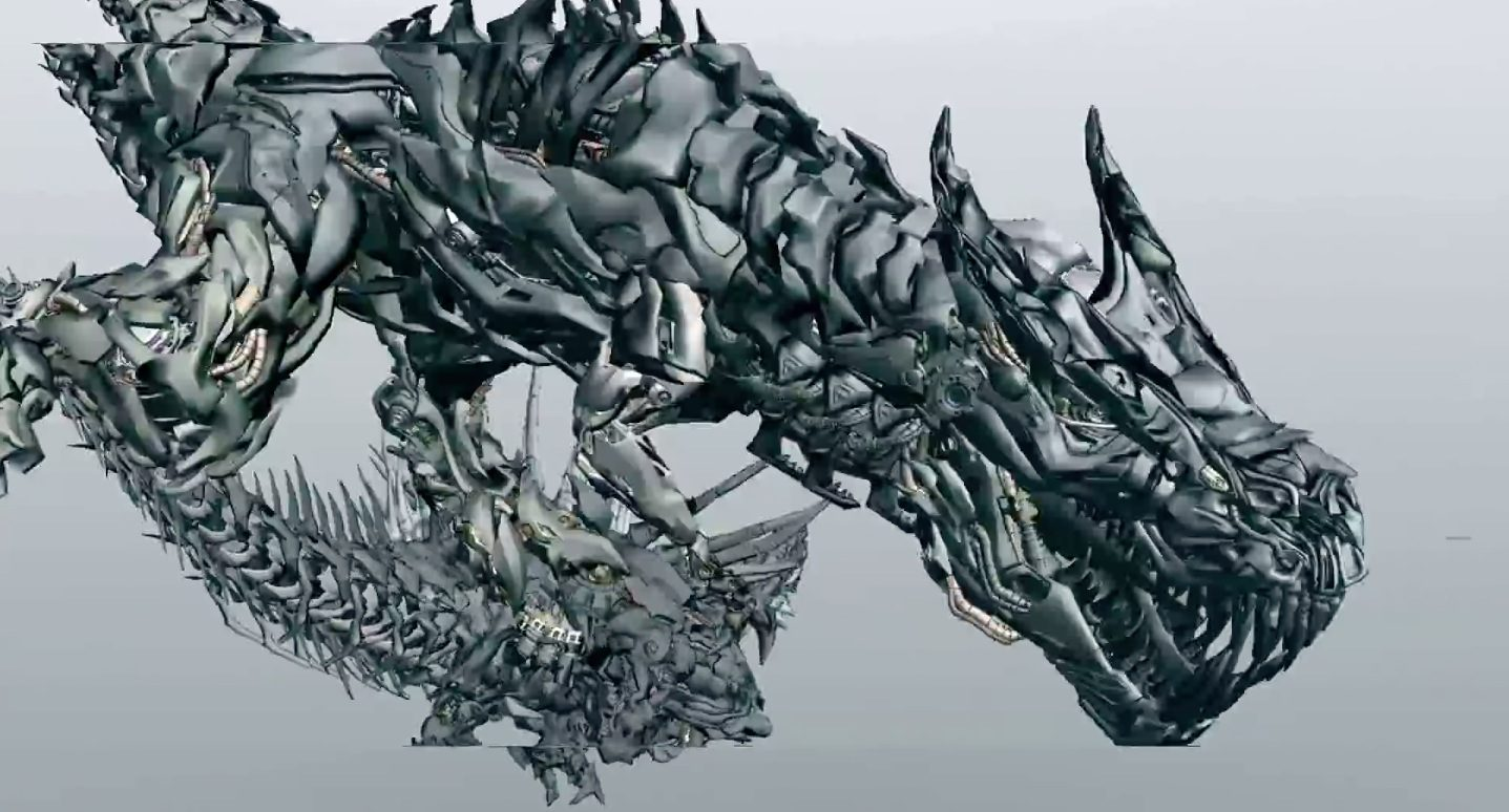 Transformers Age of Extinction : Making the Dinobots - Part 2
